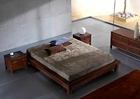 Кровать и комод Tao + прикроватные тумбочки