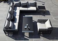 Садовая мебель: диван, кресло, столы