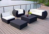 Садовая мебель: диван, кресла, столы