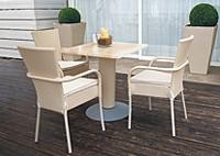 Стол и стулья MIAMI