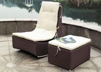 Садовая мебель: кресло и столик